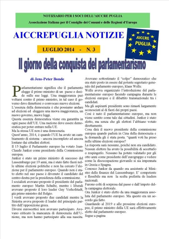 aiccrepuglia notizie luglio 2014 ., 3