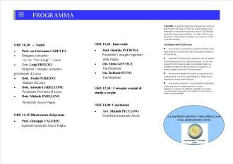 programma consegna borse studio 2014 lecce.pubb
